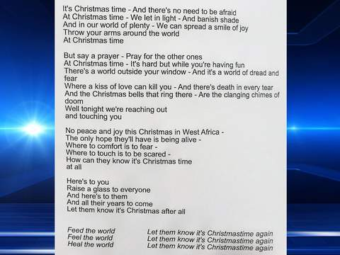 Band Aid 30 – Do They Know It's Christmas? Lyrics | Genius Lyrics