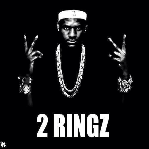 Lebron James 2 Rings