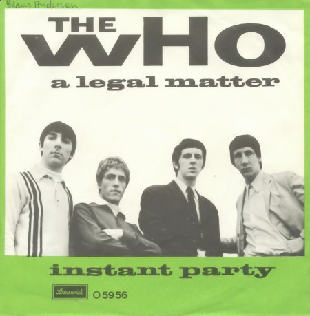 Cover art for A Legal Matter by The Who
