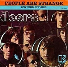 ... Jim realized he was depressed because u201cif youu0027re strange people are strange.u201d He then wrote the rest of the lyrics which are about feeling alienated.  sc 1 st  Genius & The Doors u2013 People Are Strange Lyrics | Genius Lyrics