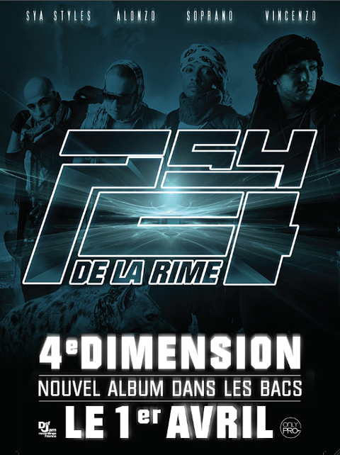 album psy4de la rime 4eme dimension