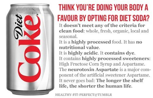 Diet Soda Kills Brain Cells 1