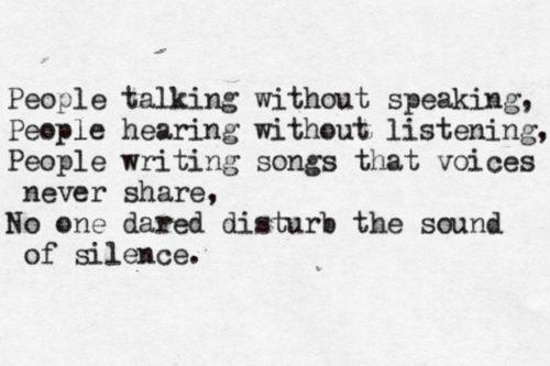 Disturbed – The Sound of Silence Lyrics | Genius Lyrics