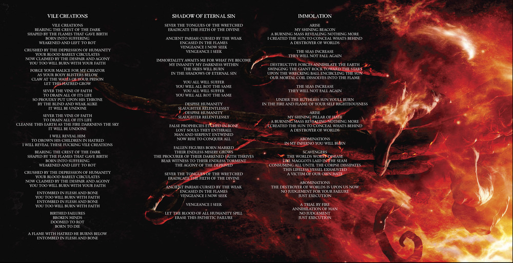 Lyric fire rap lyrics : Thy Art Is Murder – Shadow of Eternal Sin Lyrics | Genius Lyrics