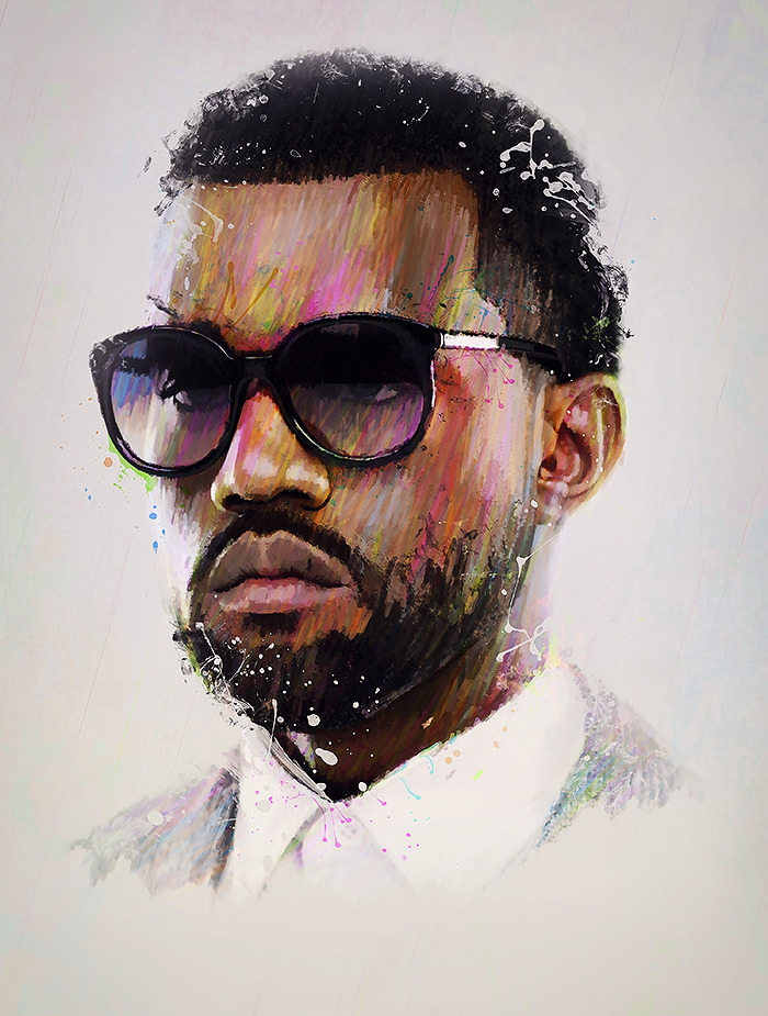 suggestions for a kanye west poster genius
