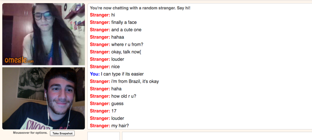 Omegle Face To Face