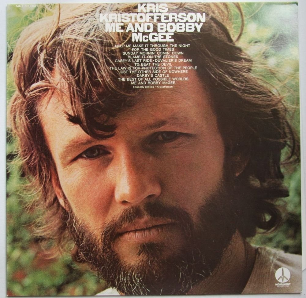 ME AND BOBBY MCGEE Chords - Kris Kristofferson | E-Chords