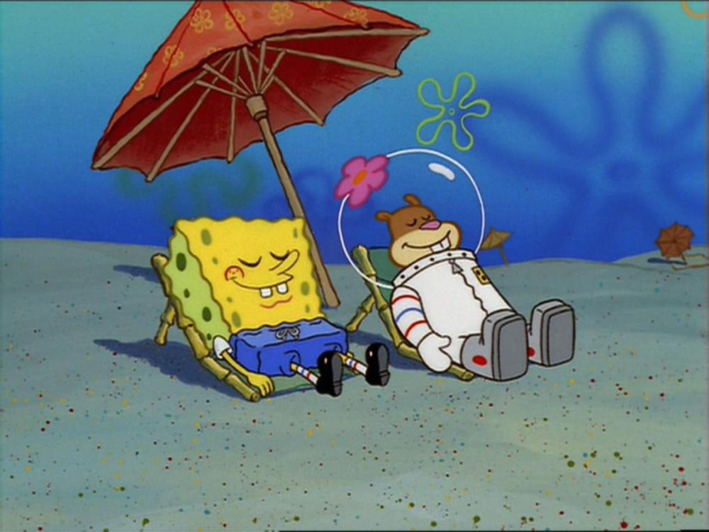 Spongebob and sandy dating