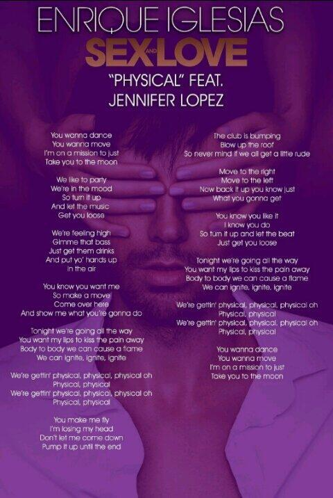 physical sex and love lyrics in Glendale
