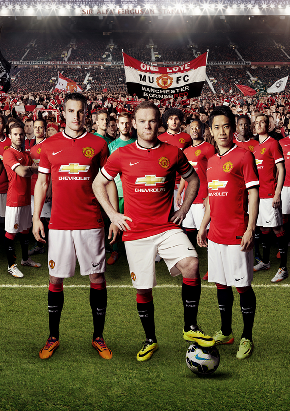Manchester United FC – Manchester United 2014/15 Kit | Genius