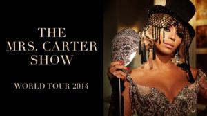 Beyoncé – The Mrs. Carter Show обложка