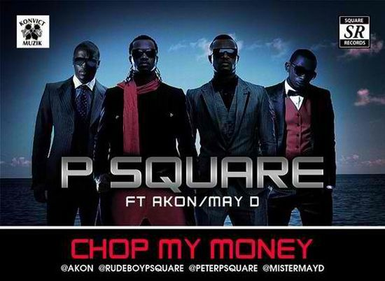 P-Square - Chop My Money Remix ft. Akon, May-D - YouTube
