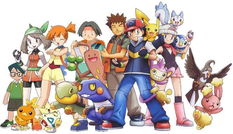 Pokemon And Y Anime Characters Names : Pok�mon characters genius