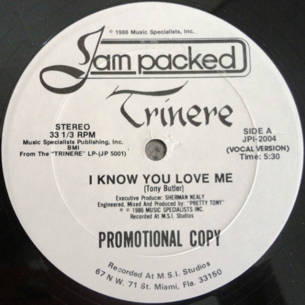 Trinere I Know You Love Me Lyrics Genius Lyrics-5544