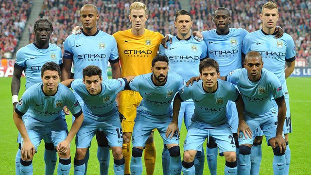 Manchester City Fc Roster