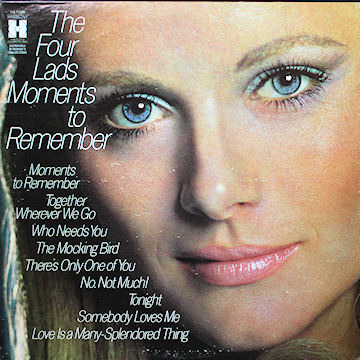Cover art for Moments To Remember by The Four Lads
