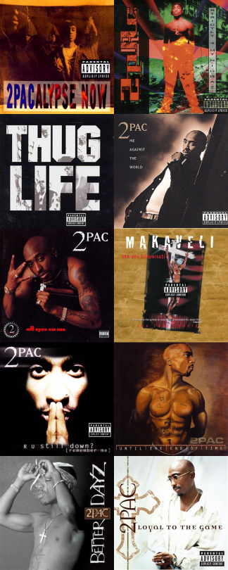 Rate: These 2Pac Albums From Best-Worst    | Genius
