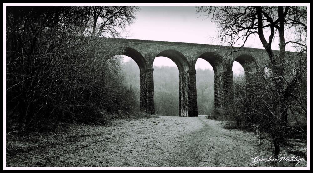 where the viaduct looms like a bird of doom