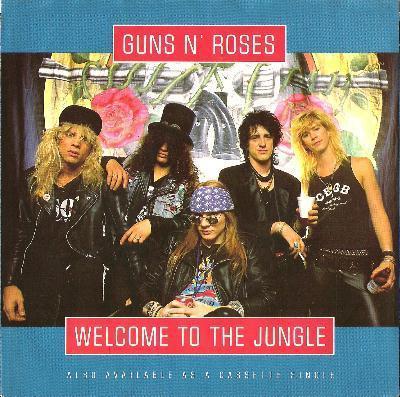 Guns N Roses Welcome To The Jungle Lyrics Genius Lyrics