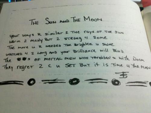 2Pac – The Sun and The Moon (Poem) | Genius