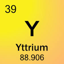 39 Yttrium Y – Periodic Table Meaning