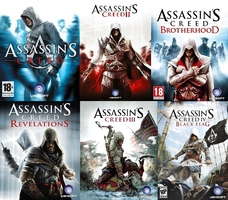 Game Genius All The Main Games From The Assassin S Creed Series