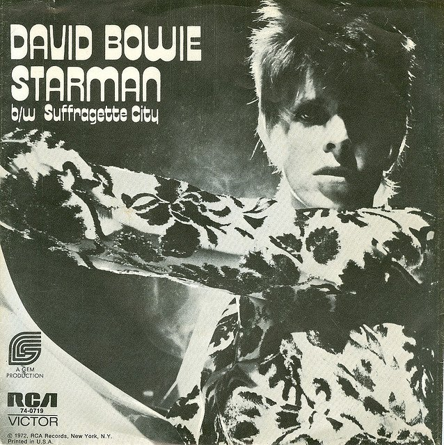The First Single From David Bowies The Rise And Fall Of Ziggy Stardust And The Spiders From Mars Album Starman Is Arguably One Of The Most Influential