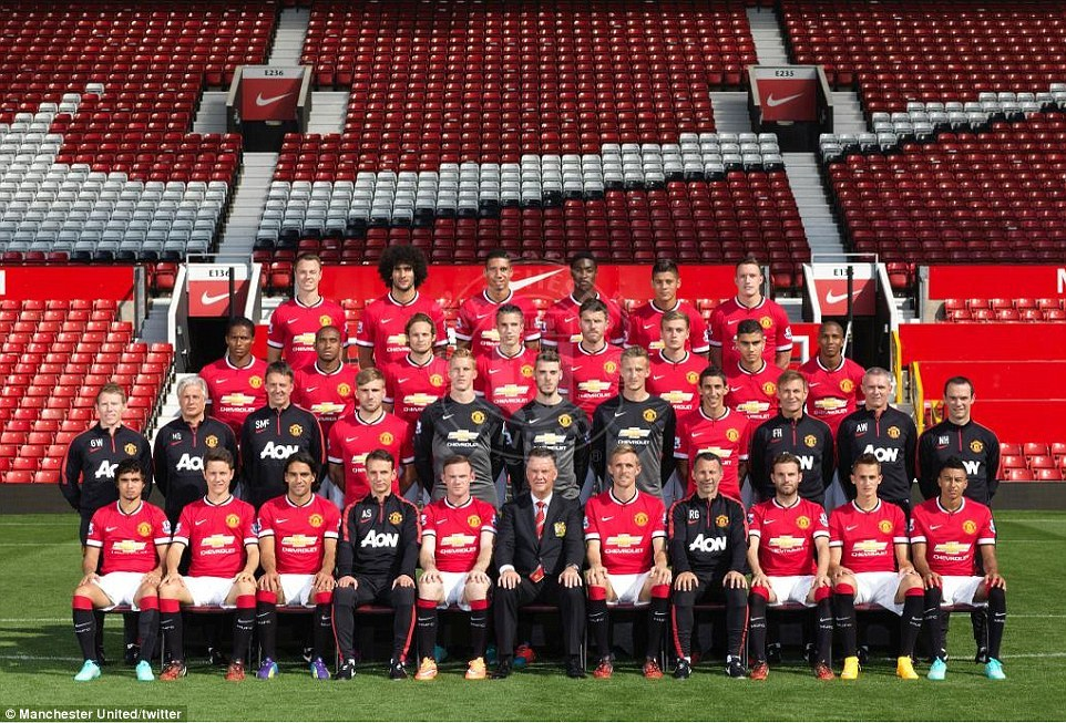 Manchester united fc 201415 manchester united fc squad genius about 201415 manchester united fc squad voltagebd Images
