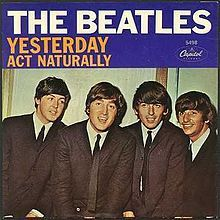 Lirik lagu yesterday beatles