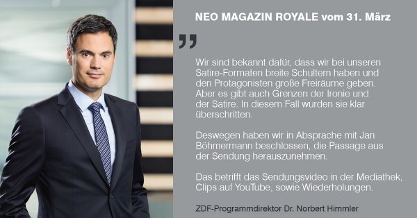 Satire gedicht jan bohmermann