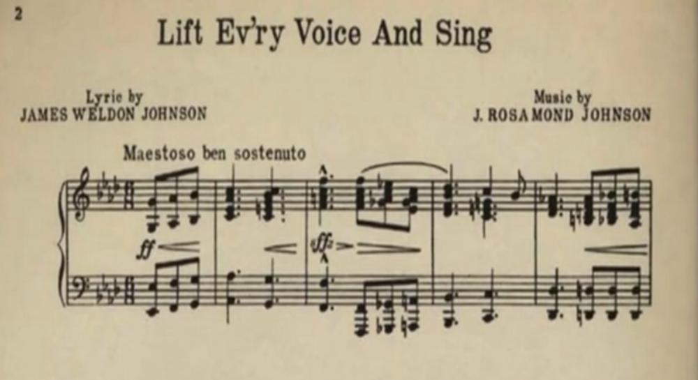 James Weldon Johnson – Lift Every Voice and Sing | Genius