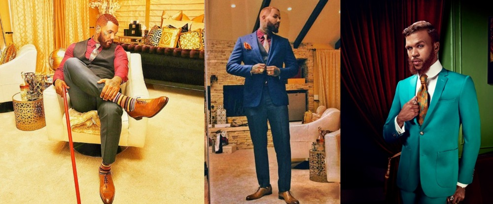 the game dressed up a jidenna that guy who sings classic man lmao