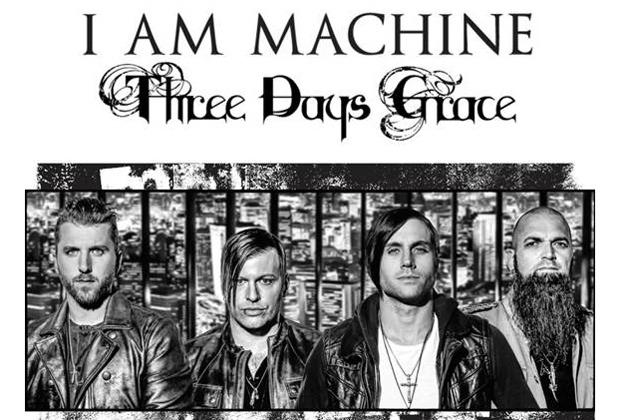 Скачать three days grace i am machine.
