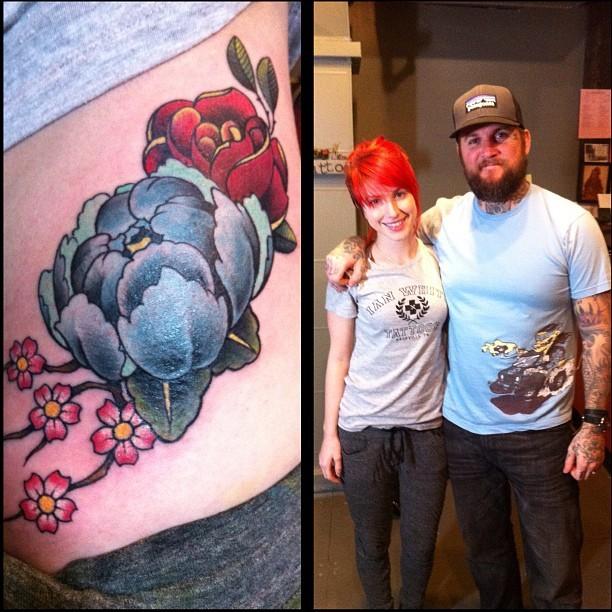Paramore – Hayley WIlliams' Tattoos Lyrics | Genius Lyrics