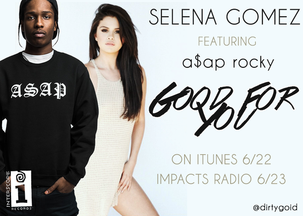 selena gomez dating asap rocky Selena and rocky collaborated on her hit song, good for you, so it seems pretty disrespectful for the rapper to come forward and speak up about her personal life like this selena also told the.