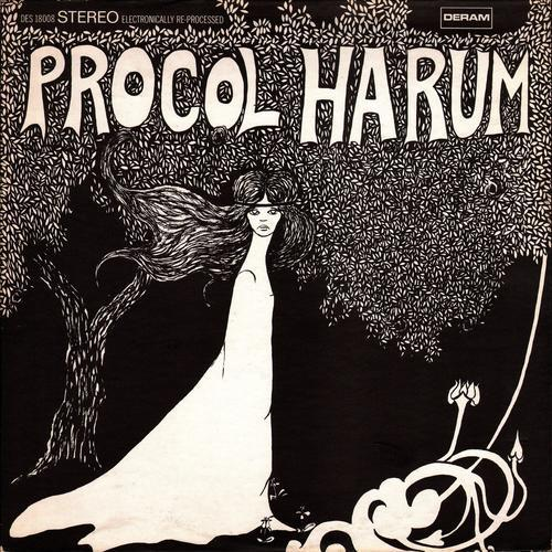 Procol Harum  named after a Burmese cat belonging to a friend of the  group's manager. It is believed to mean Beyond these far off things in  (misspelled) ...