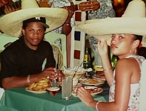Easy E Funeral: Eazy-E Wearing A Hat Under His Sombrero