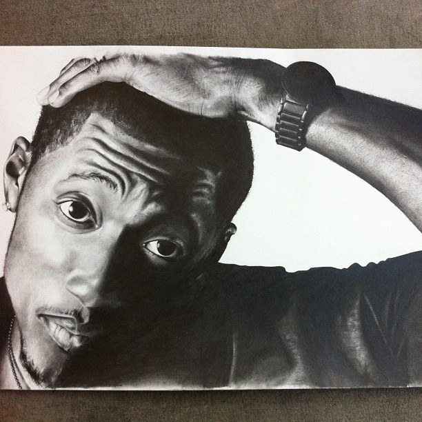 Post Some Dope Drawings Of Rappers.
