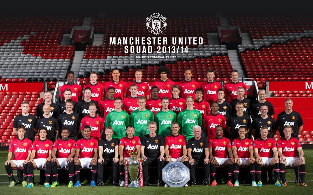 Manchester United FC - 2013/14 Manchester United FC Squad | Genius