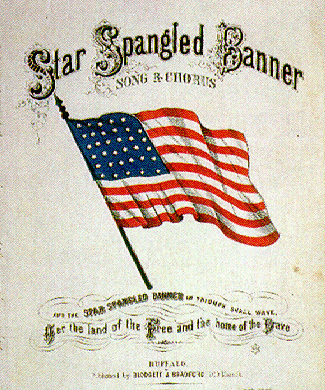 picture about Words to the Star Spangled Banner Printable known as Francis Scott Magic formula Defence of Fort MHenry (Star Spangled