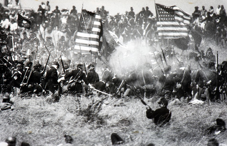 Pickett's Charge, Battle of Gettysburg, Gettysburg, Pa. | Flickr ...