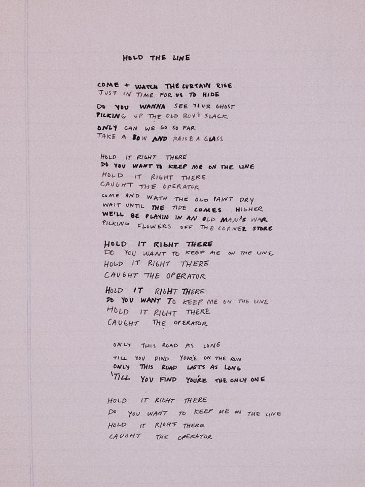 Jack and Eliza – Hold The Line Lyrics | Genius Lyrics
