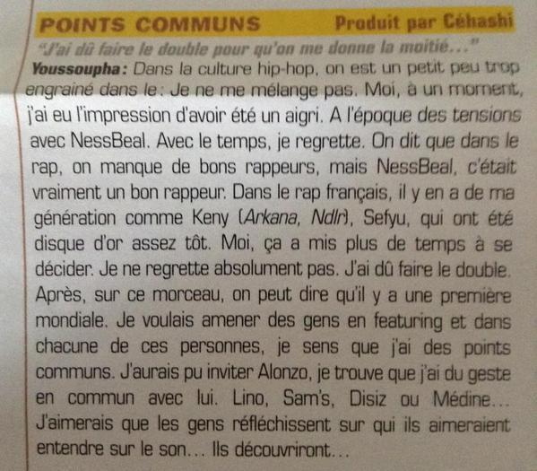 points communs youssoupha
