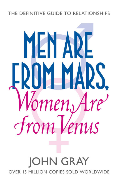men from mars women are from venus john gray first print - photo #1