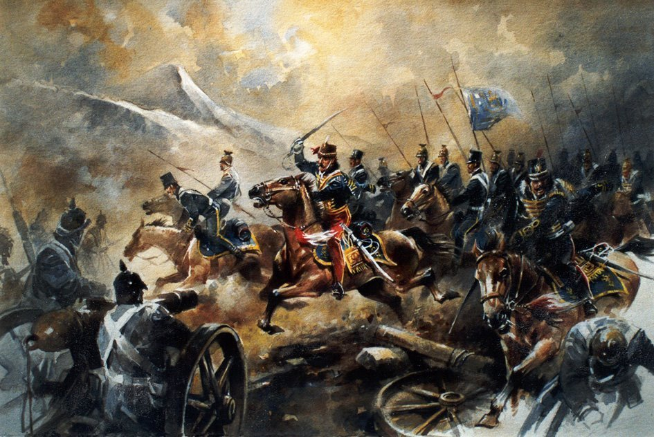 Image result for charge of the light brigade