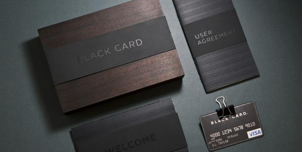 black diamond visa card review