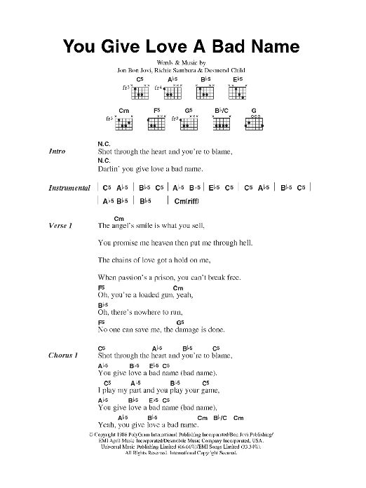 Lyrics containing the term: BIG