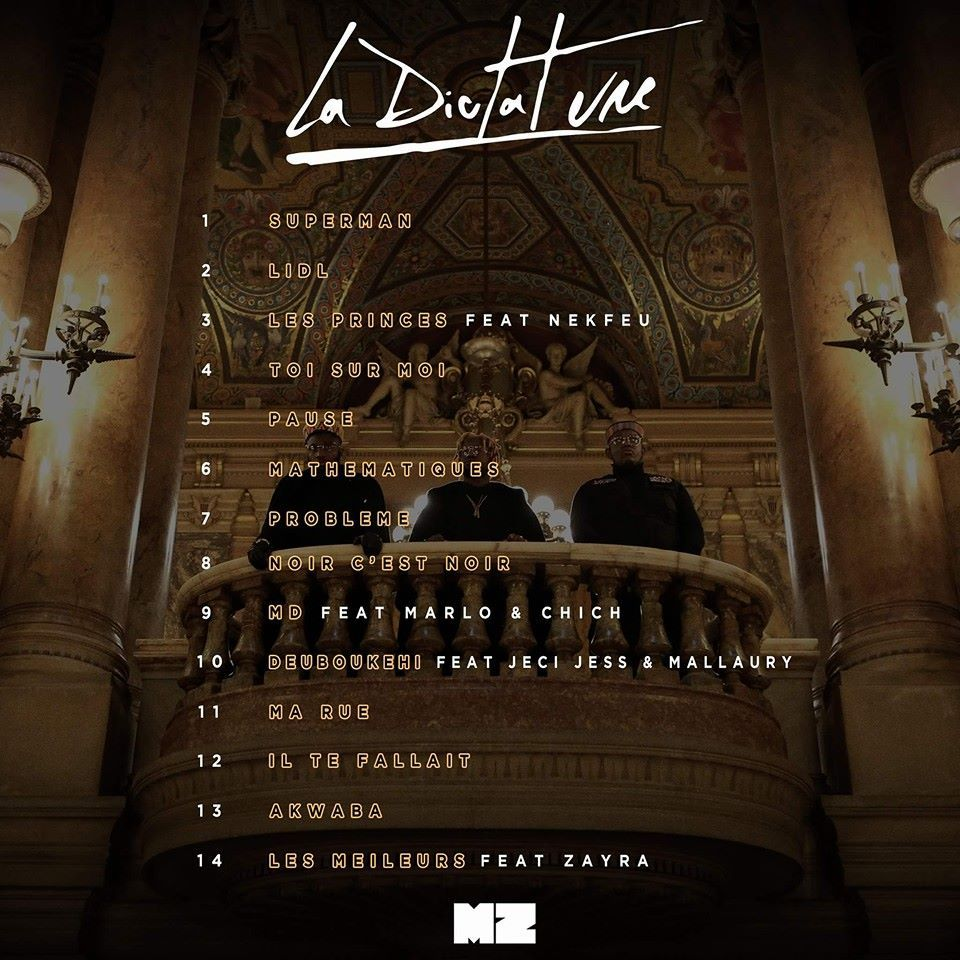 album mz la dictature gratuit