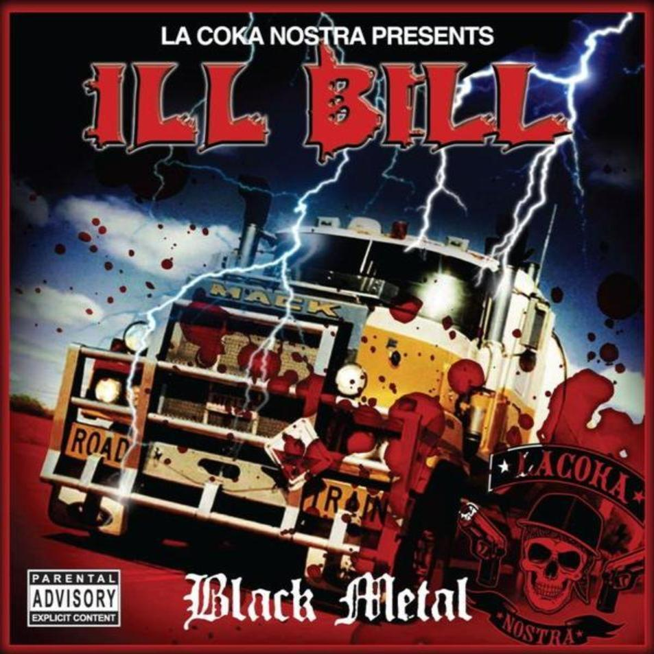 Lyrics containing the term: black metal