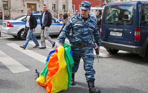 Homosexual propaganda bill russia